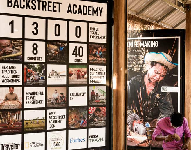 backstreet academy is a social company of experience tourism