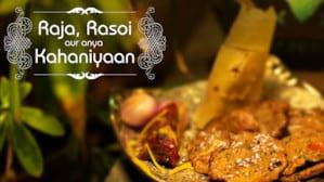 capa de Raja Rasoi, uma série sobre alimentos