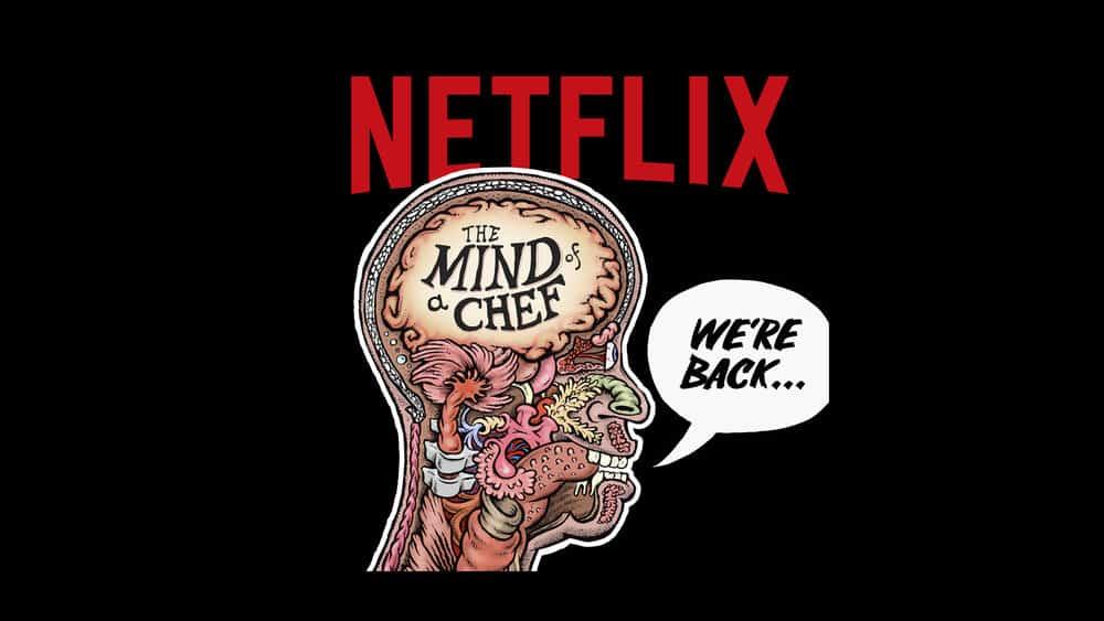 a mente de um chef série conver, um documentário sobre comida na Netflix