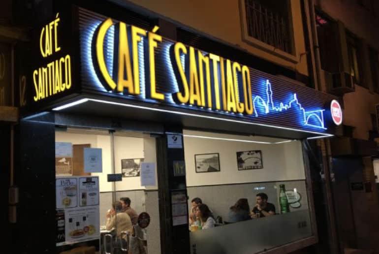 Café Santiago Facede
