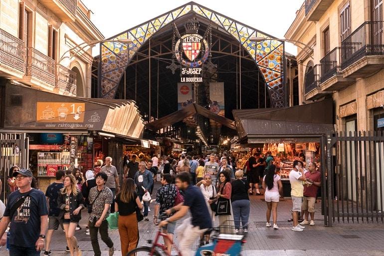 La Boquería Market in Barcelona