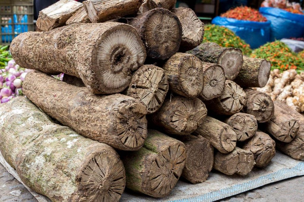 Sakhan or Chili Wood - local and unique ingredient in Laos