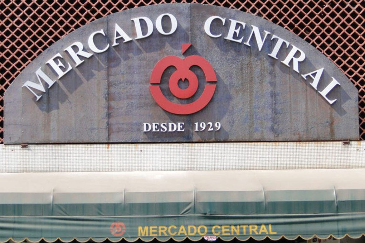 Letreiro do Mercado Central de Belo Horizonte