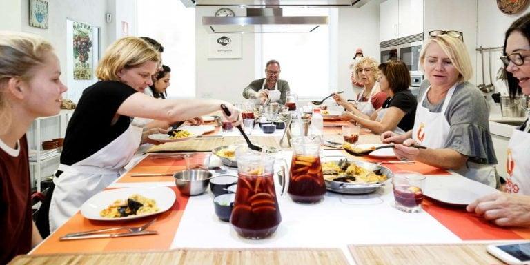 Aula de Culinária Espanhola