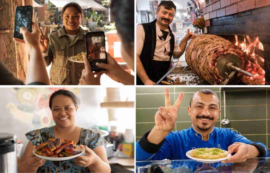 food sellers to describe food tourism benefits, also known as culinary and gastronomy tourism, reaching far beyond the tourist