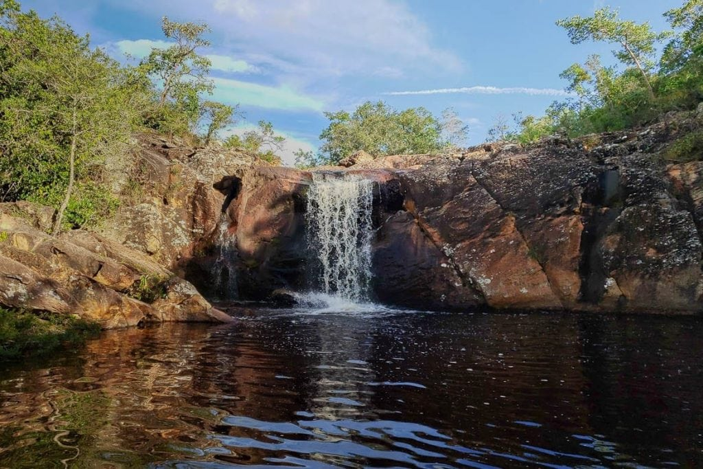 cachoeira de milho verde distrito em minas gerais