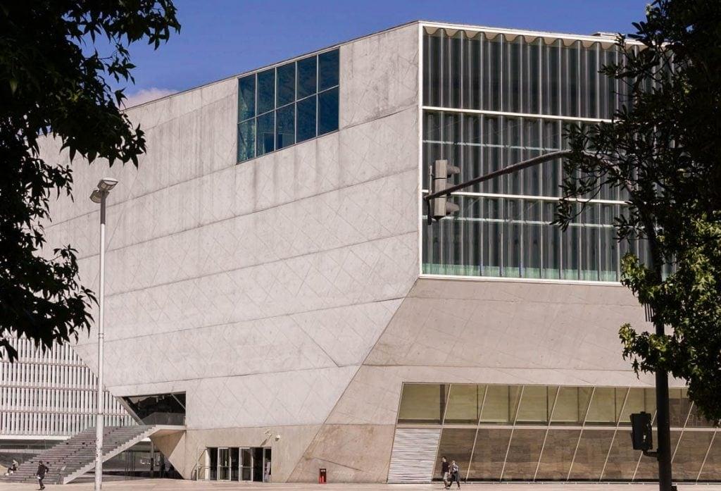 casa da música na cidade do Porto