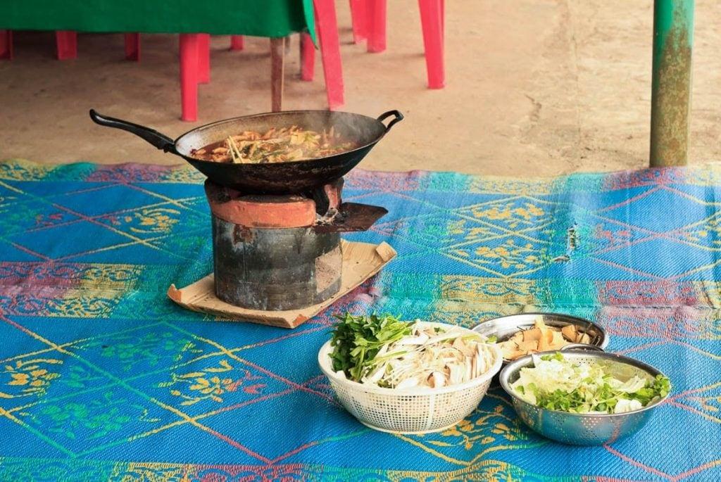 Cozinha tradicional de Laos