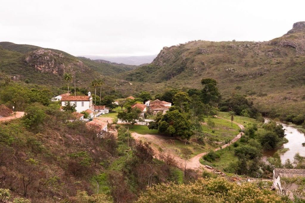 vila do Biribiri localizado próximo de Diamantina