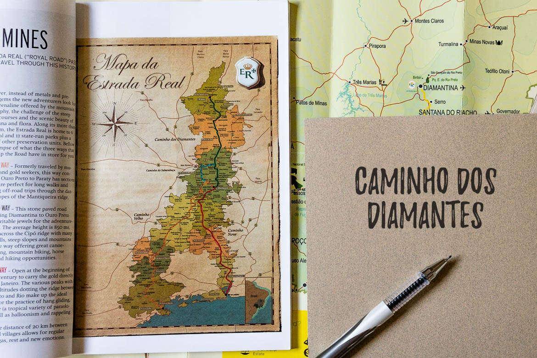 caminho dos diamantes diamond road guide from the brazilian royal road