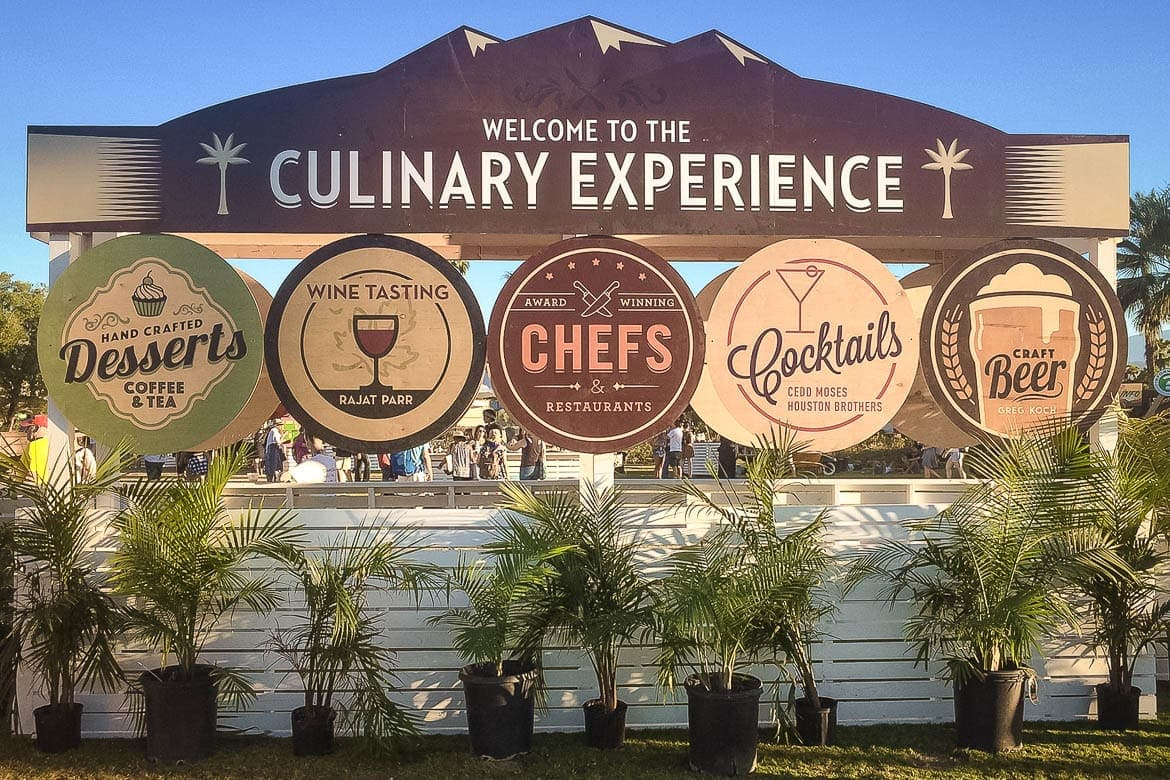 food square at an international culinary event a perfect food tourism activity