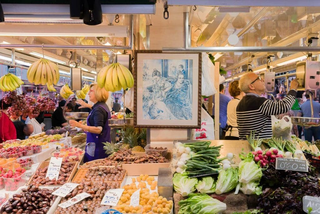 visita aos mercados locais como parte de passeios e tours gastronômicos