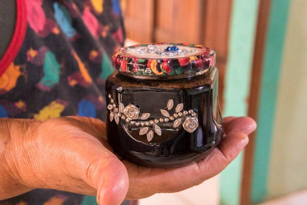 home made jam in Brazil