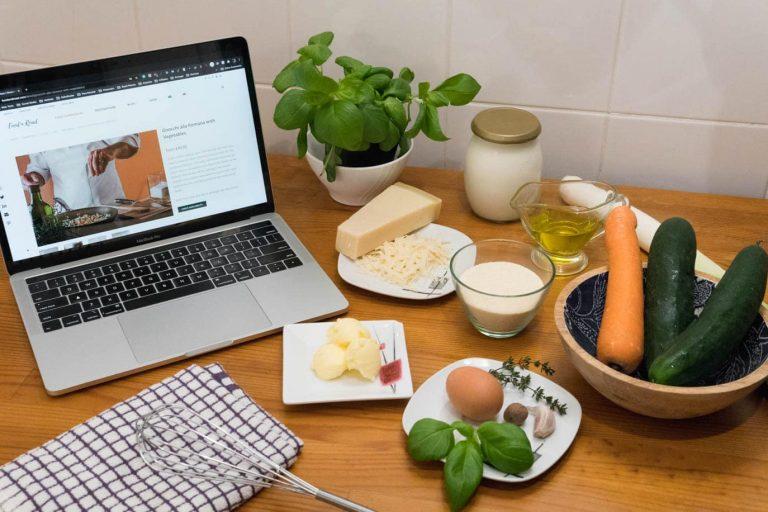 Not a potato gnocchi: my first online cooking class
