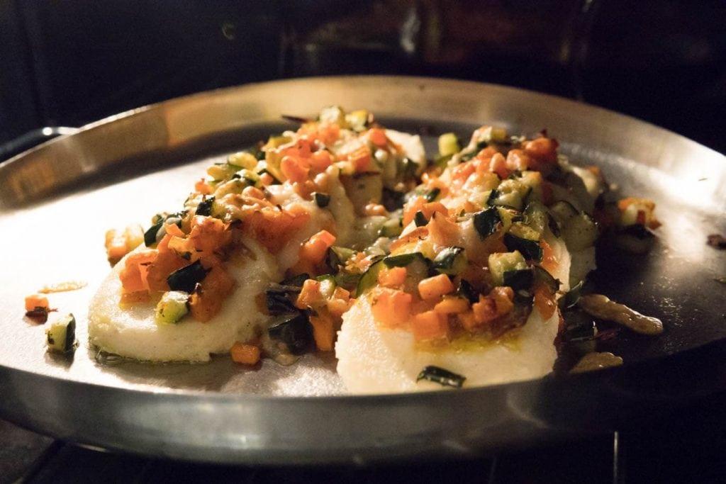 gnocchi alla romana in the oven to finish cooking