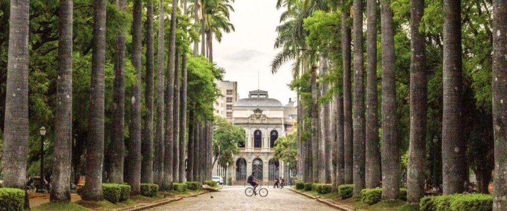 Guia de viagem de Belo Horizonte - Praça da Liberdade