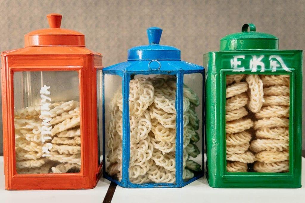 biscoitos de amido da Indonésia
