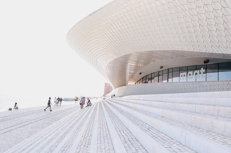 Museum MAAT provides a great contrast between old and modern and is a good option for those looking for things to do in Lisbon beyond the traditional