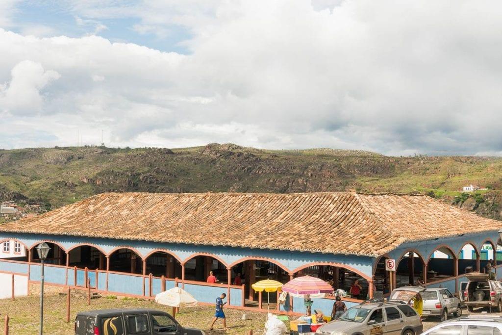 mercado velho dos tropeiros em Diamantina Minas Gerais