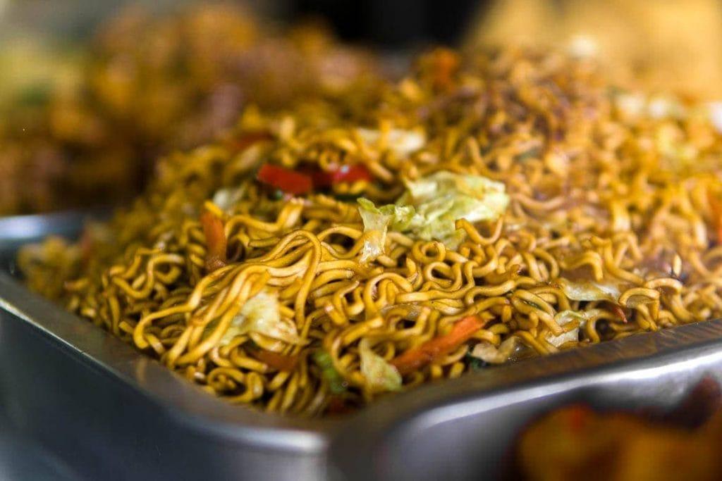 mie goreng, macarrão frito da Indonesia
