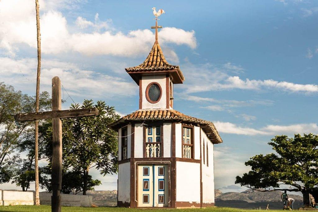Capela de Nossa Senhora do Rosário em Milho Verde, Minas Gerais