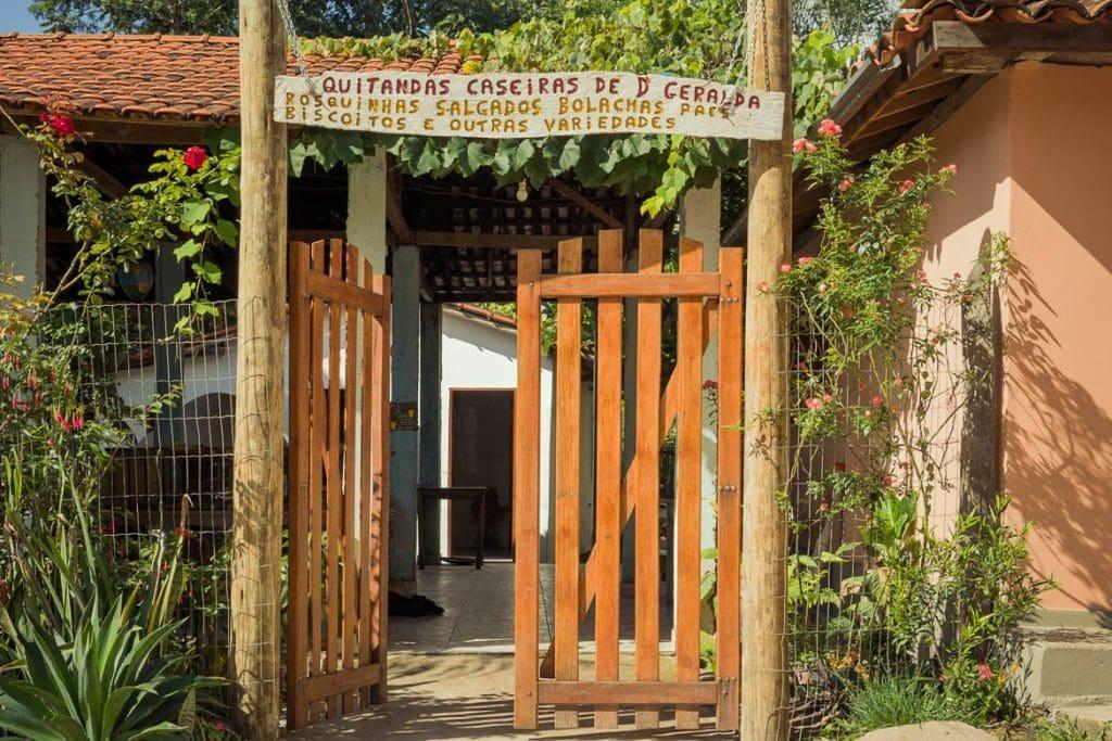 Quitandas caseiras da Dona Geralda em Milho Verde Minas Gerais