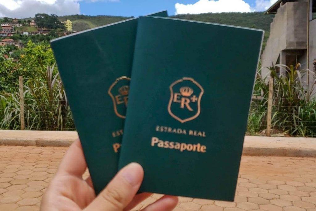 o passaporte da estrada real