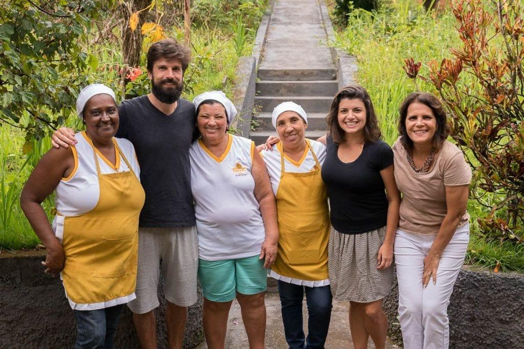 mantenedoras do Pastel de Angú de Itabirito em Minas Gerais