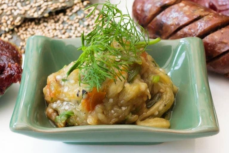 Jeow Mak Keua, Lao eggplant dip