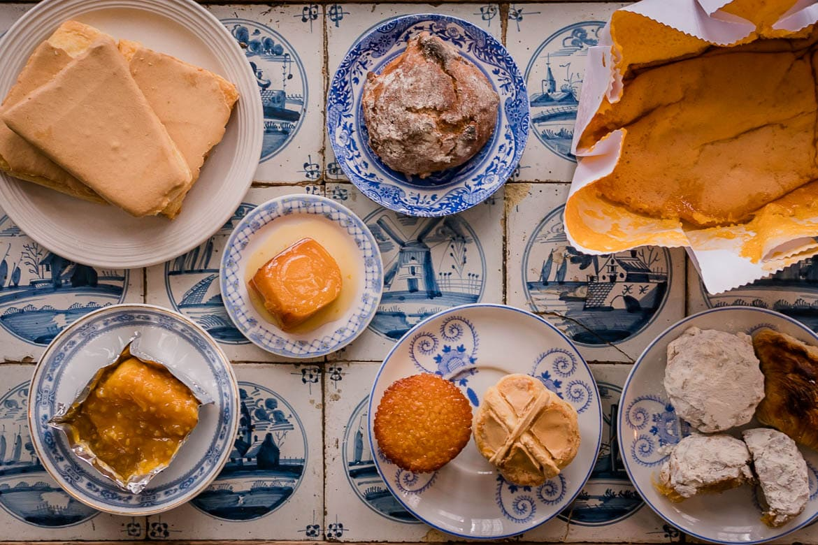 sweets of portuguese cuisine inspired from the great travels and ingredients from around the world