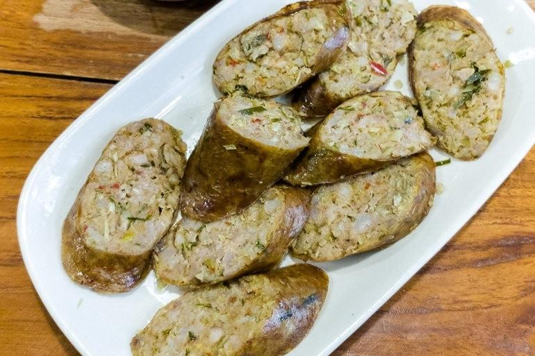 Thai sausage Sai Oua