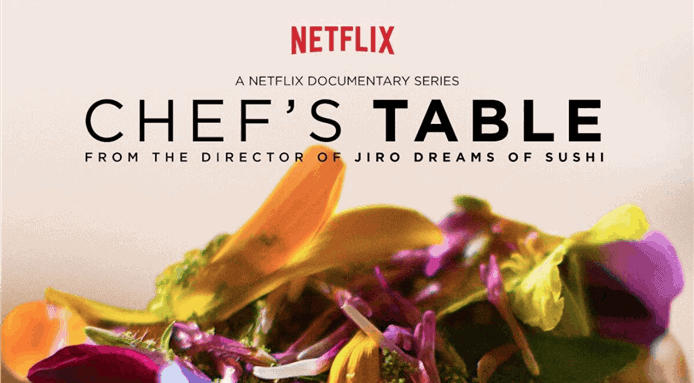 cover of chef's table, a series about food on netflix