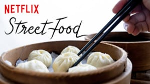 cover of street food, a series about food on netflix