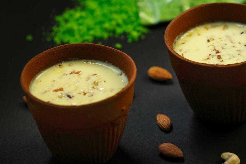 thandai é uma bebida típica da Índia