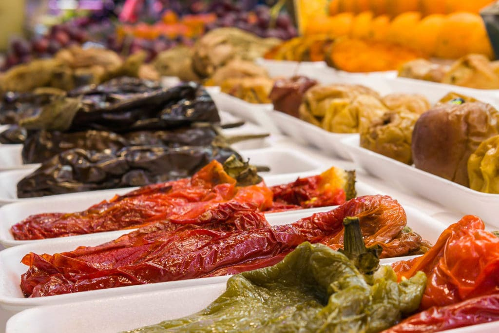 legumes espanhóis secos ao sol