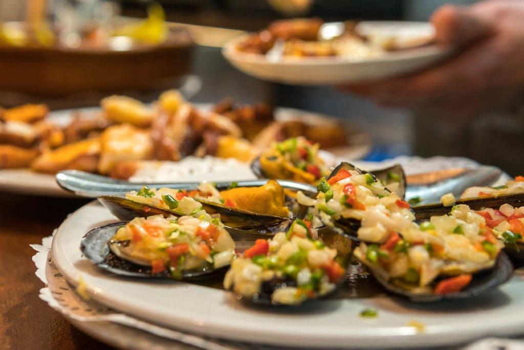 tapas espanholas comida tradicional na culinária espanhola
