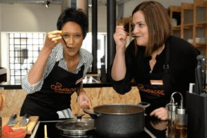 Photos of the Hands-on Portuguese Cooking Class
