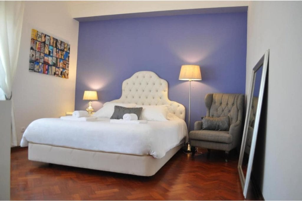 Photo of Casa Amarela Belém bedroom with a double bed