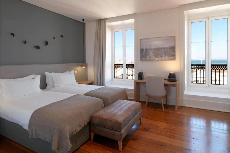 Bedroom at Feels like home Chiado in Lisbon