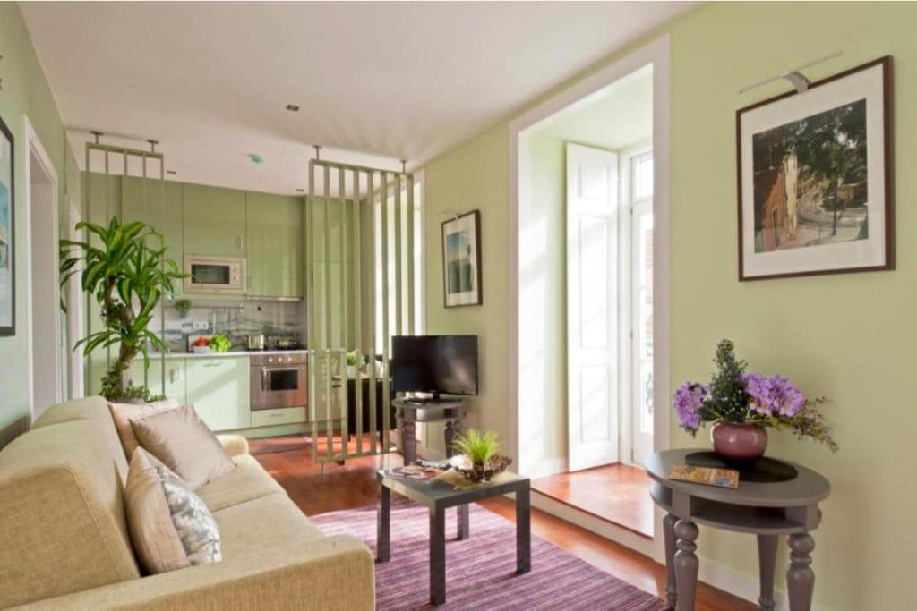 Photo of Lisbon Colours Bairro Alto living room and kitchen