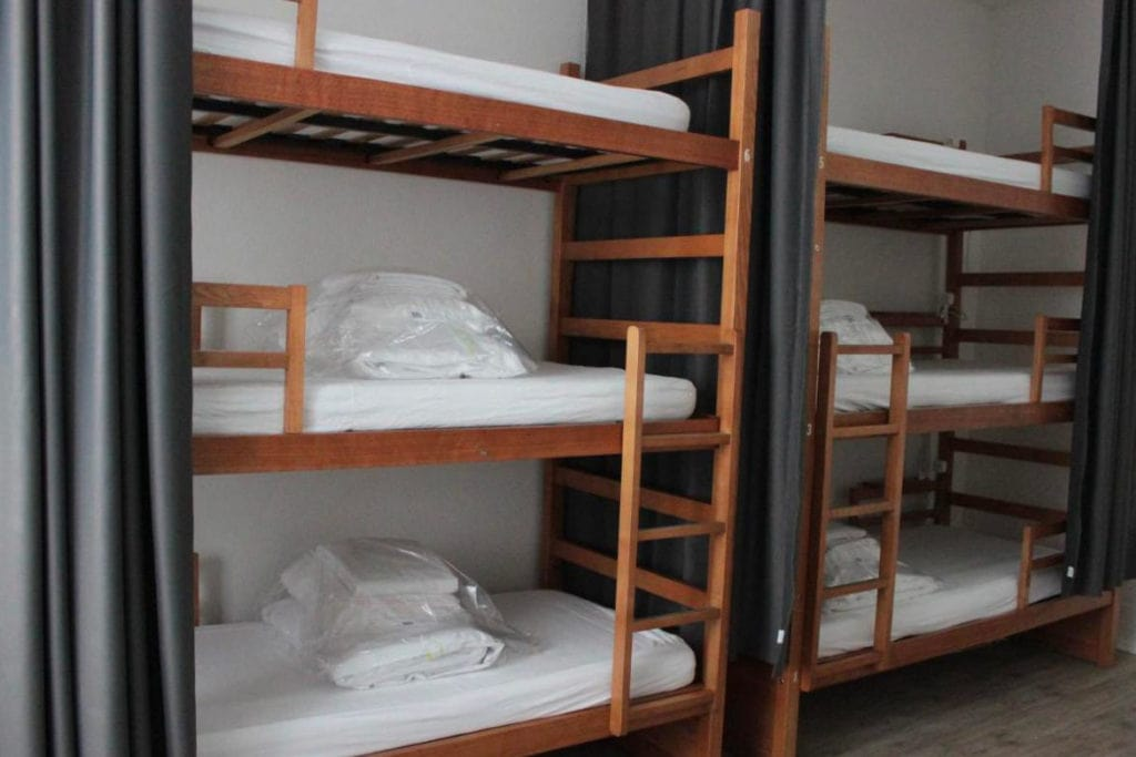 Shared room with bunk beds at Royal Prince Hostel in Lisbon