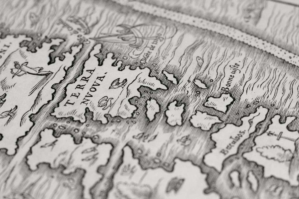 illustration of terra nova map