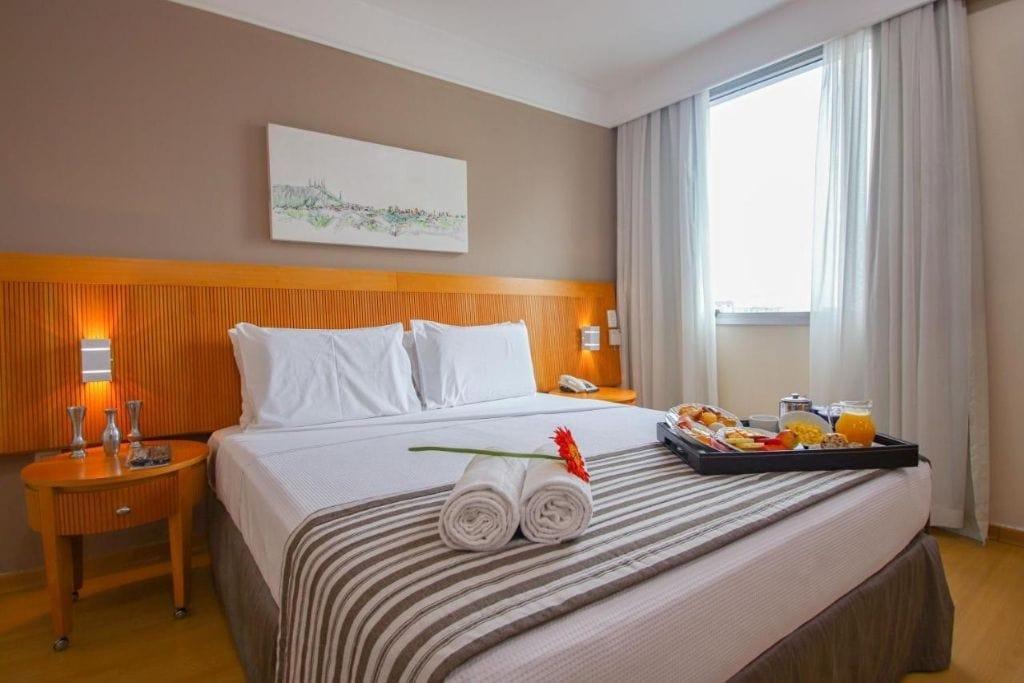double room at belo horizonte plaza, best hotels in belo horizonte