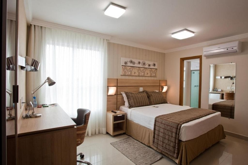double room at bristol jaragua, recommended place where to stay in belo horizonte