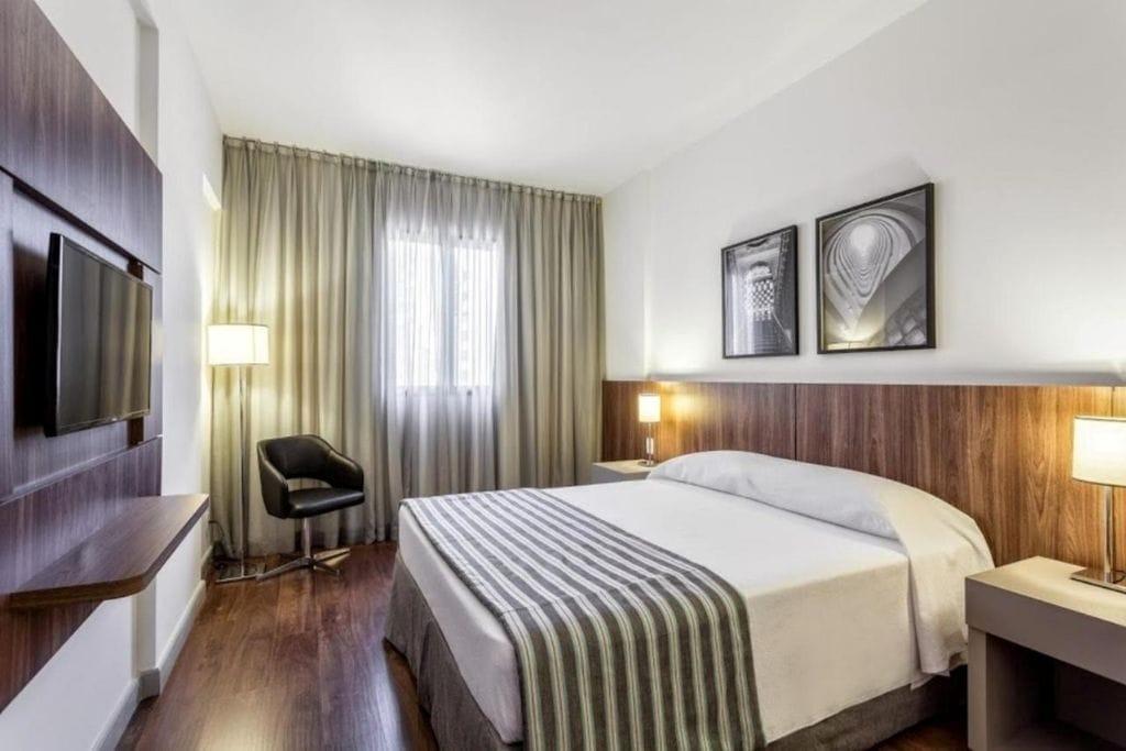 double room at vivenzo savassi hotel in belo horizonte