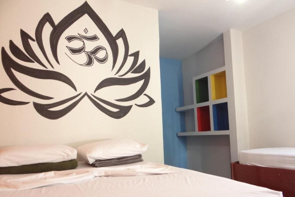 double room at orla pampulha hostel in bh