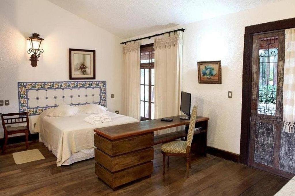 double room at pousada solas das vieiras