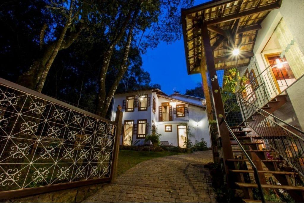 outdoor of vila rica pousada boutique hotel in minas gerais