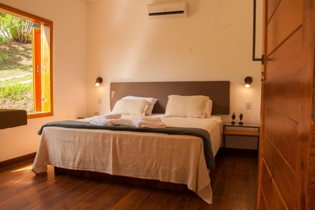 room at Villa Domaso country hotel where to stay in Minas Gerais