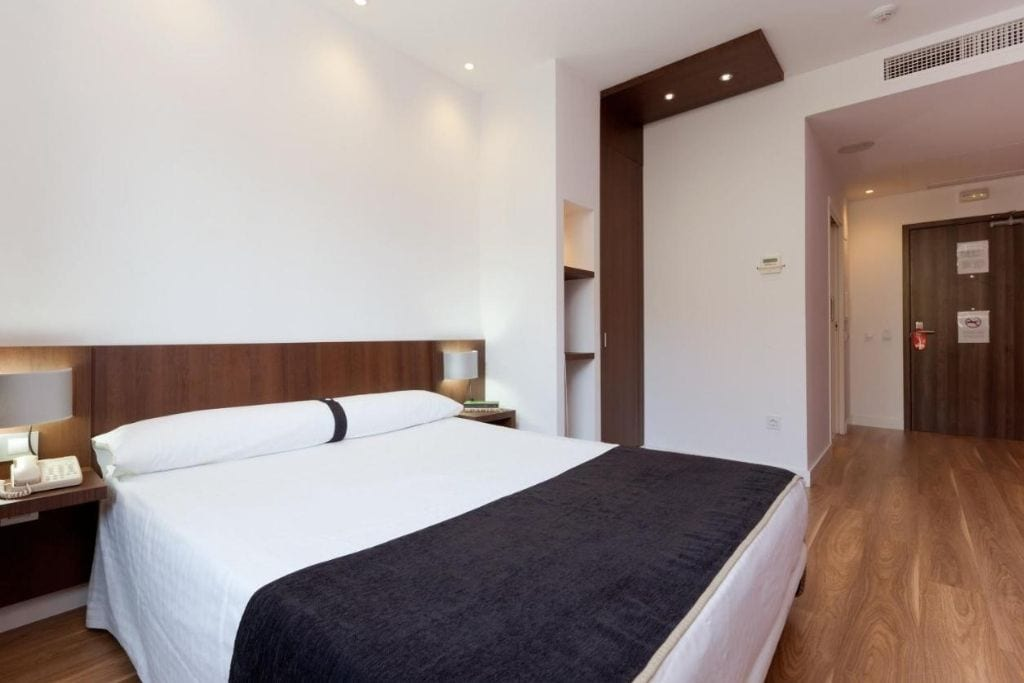 double room at olympia hotel in valencia